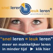"""Training: """"Snel leren = leuk leren"""" start 6 jan. 2016"""